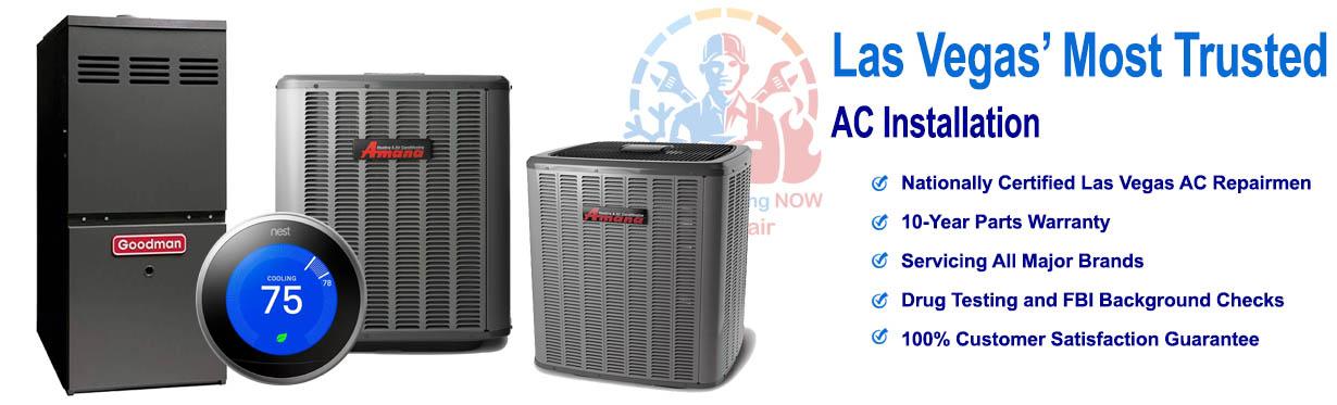 AC Installation - Air Conditioning Now AC Repair Las Vegas