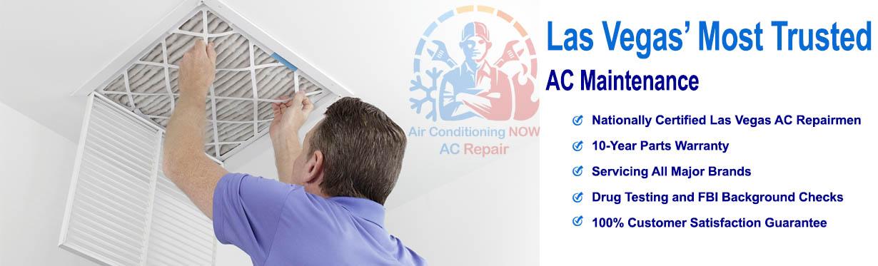 AC Maintenance - Air Conditioning Now AC Repair Las Vegas